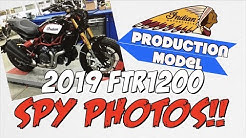 2019 Indian FTR1200 LEAKED PHOTOS!!