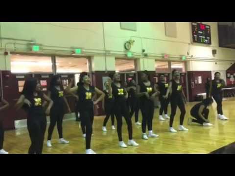 Memphis Business Academy vs Grad Academy Cheerleaders