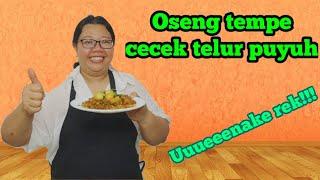 Oseng Tempe Cecek Telur Puyuh   Uuueeenake Rek!!!