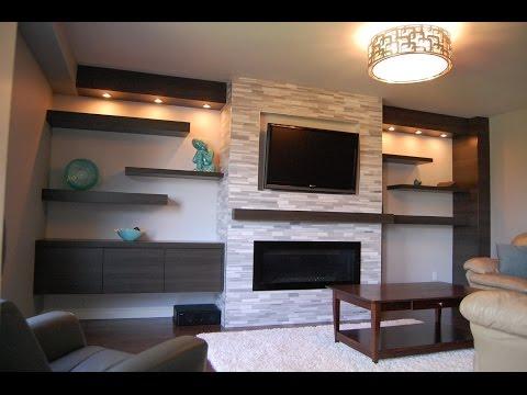 Wall Mounted TV Shelves