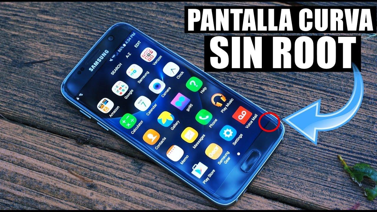 Pantalla 3d Para Cualquier TelÉfono Android: Pantalla Curva Para Cualquier Teléfono Android Sin Root