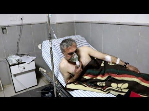 Seis hombres con problemas respiratorios tras bombardeo en Afrin