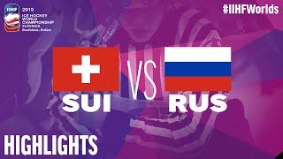 Switzerland vs. Russia - Game Highlights - #IIHFWorlds 2019