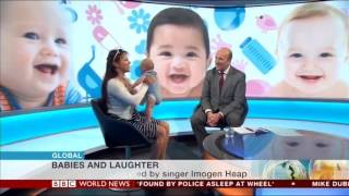 A song scientifically proven to make babies laugh