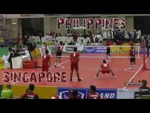 2015 King's Cup   Philippines vs. Singapore Team Final 1st Regu   Sepak Takraw