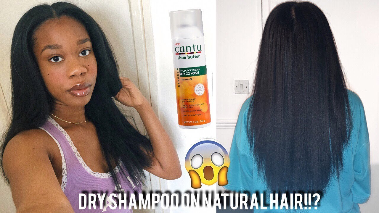 How I Keep My Type 4 Natural Hair Straight For 3 Weeks Dry Shampoo On Natural Hair Youtube