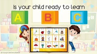 ABC Book for Kids - with ABC Song Video to complement lessons! (Neena Bluebell)
