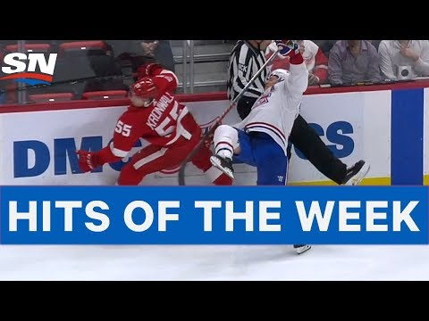 NHL Hits of The Week: Battle In Detroit