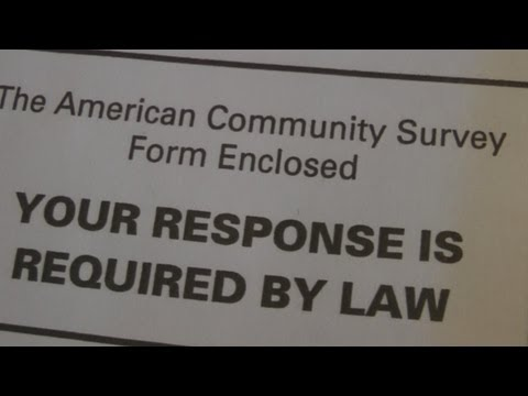 Unconstitutional American Community Survey! - US Census Garbage (Part 1 of 4)