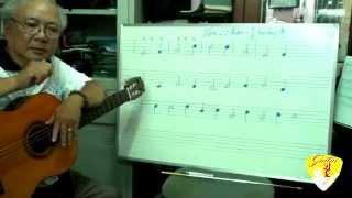 HƯỚNG DẪN TẬP GUITAR (cho người mới bắt đầu)_Bài 5.4: Học về nhịp (tiếp)