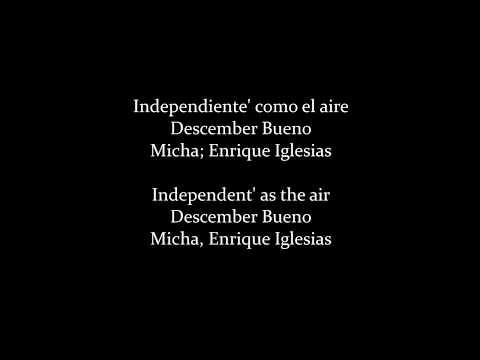 Descemer Bueno, Enrique Iglesias, El Micha - Nos Fuimos Lejos (Lyrics/Letra)