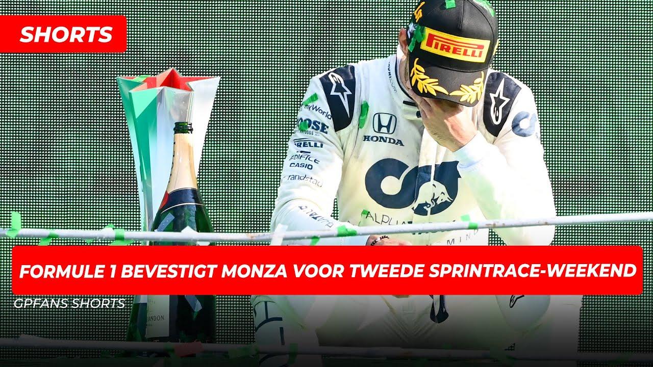 Formule 1 bevestigt Monza als decor voor tweede sprintrace-weekend