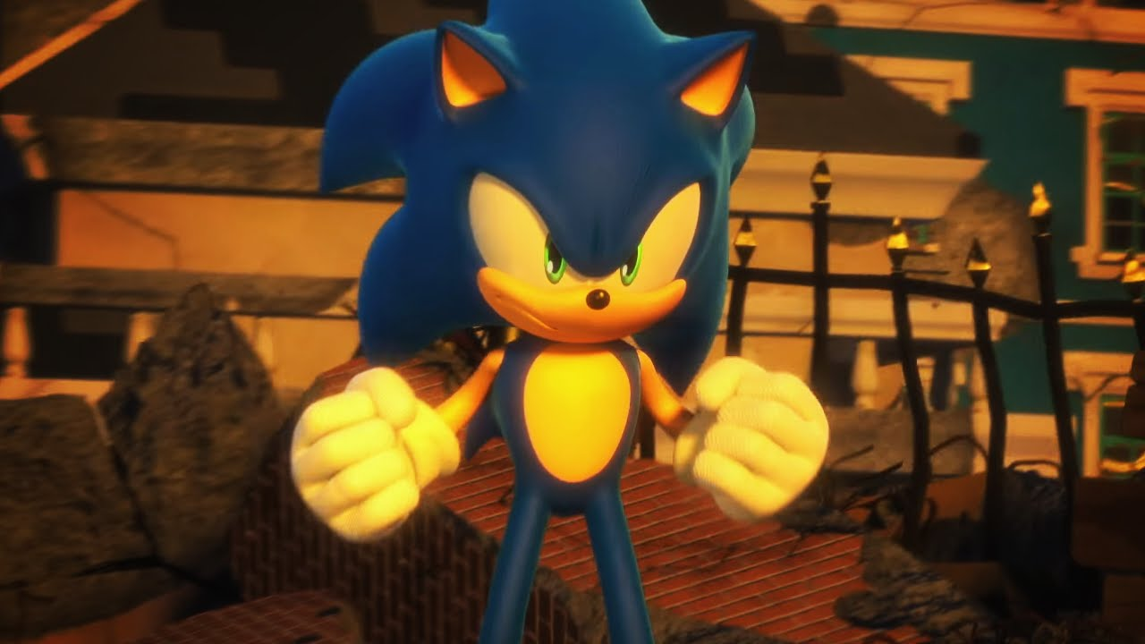 Is This A Dark Sonic Game Sonic Forces 2017 Trailer