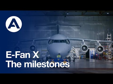 E-Fan X: The milestones