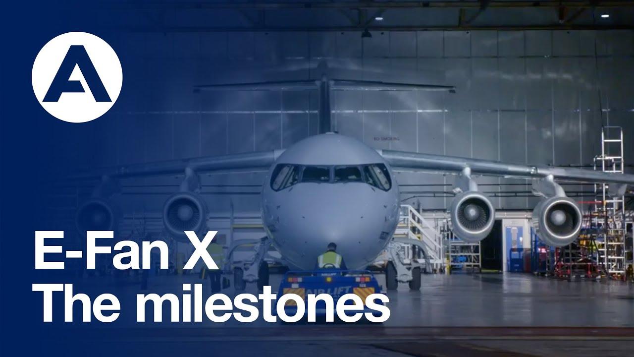 E-Fan X: The milestones