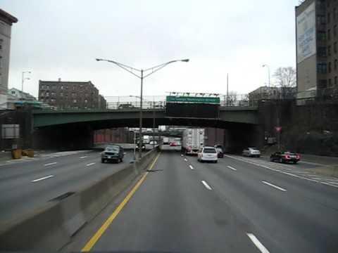 Cross Bronx Expressway - wyjazd z Nowego Jorku
