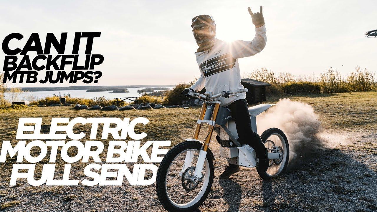 c5cd8484bfa RIDING ELECTRIC MOTOR BIKES AT MY MTB SLOPESTYLE COMPOUND!! - YouTube