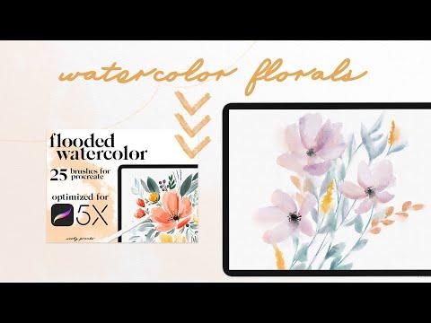 Procreate Watercolor Tutorial: