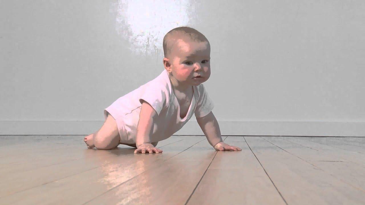 Masa Bayi Belajar Merangkak di Tahun Pertama  YouTube