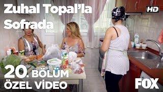 İpek Hanım mutfakta... Zuhal Topal'la Sofrada 20. Bölüm