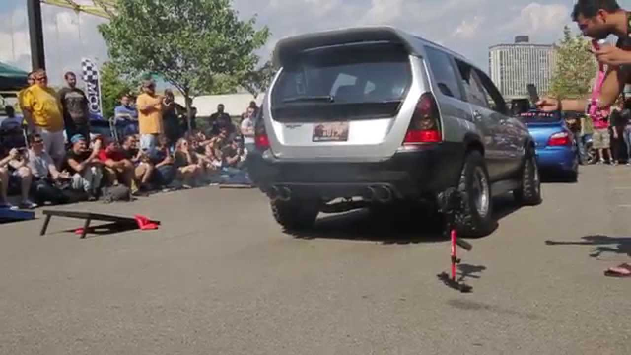 2005 moore performance forester xt loud exhaust