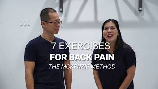 Download 7 Exercises for Back Pain Using the McKenzie Method Mp3