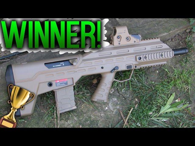 HUGE AIRSOFT GIVEAWAY WINNER!!! APS UAR AIRSOFT GUN!