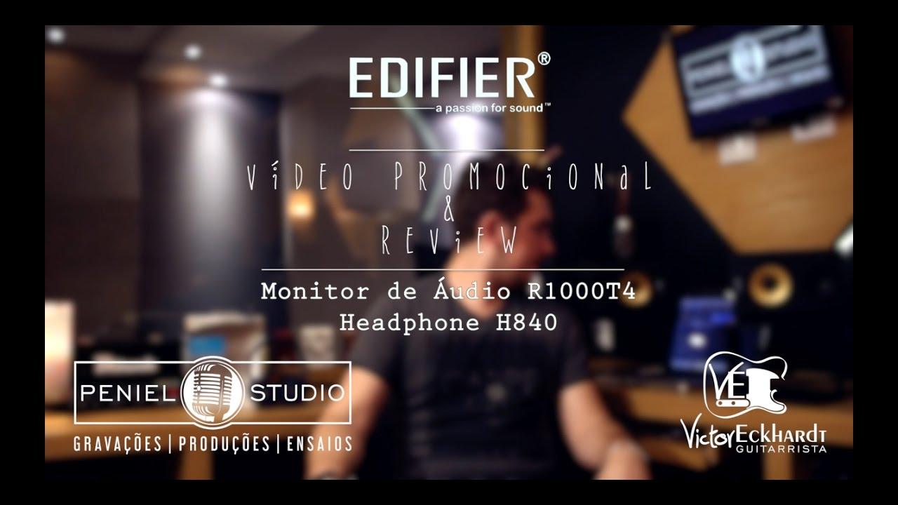 Victor Eckhardt - Edifier / Promoção & Review Monitor R1000T4