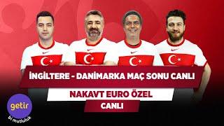 İngiltere - Danimarka Maç Sonu Canlı | Serdar Ali Çelikler & Ali Ece & Uğur K. & Yağız S.