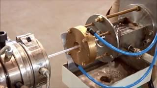 видео Производство ПВХ труб: обзор технологии и оборудования, сырье, экструзионная линия