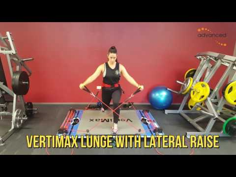 VERTIMAX LUNGE WITH LATERAL RAISE