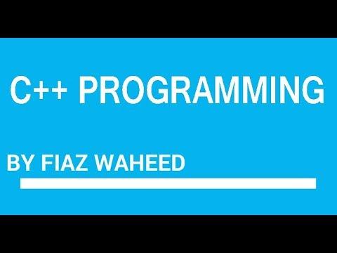 Introduction to C++ Programming, Lec-1 |C++ Programming Language for beginners in Urdu/Hindi| thumbnail