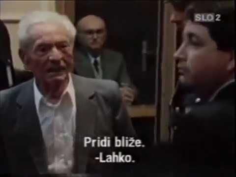 Artuković emotivni susret sa sinom na suđenju, Zagreb 1986.