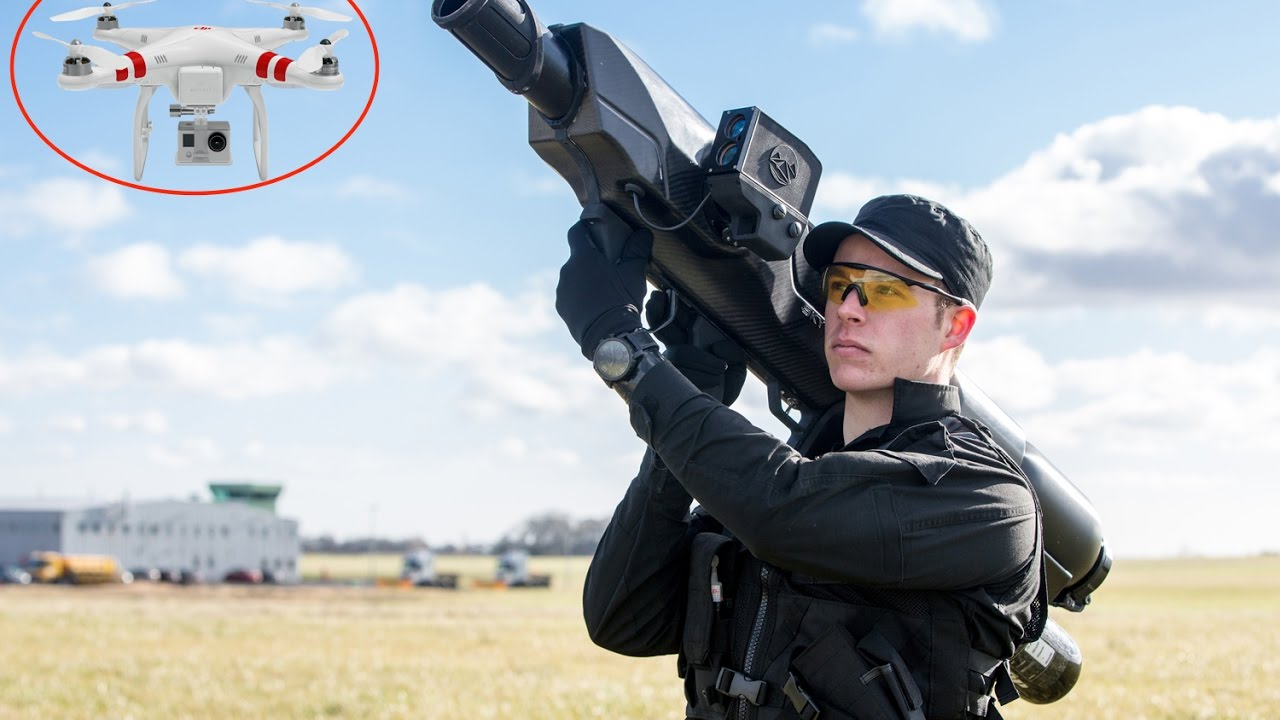 Latest 4 Anti Drone Guns And Inventions To Take Down Illegal Drones In 2017