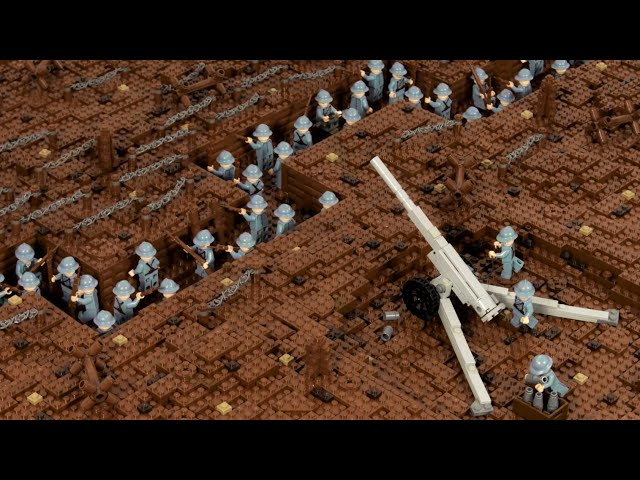 Lego WW1 - The Battle Of Verdun - stop motion