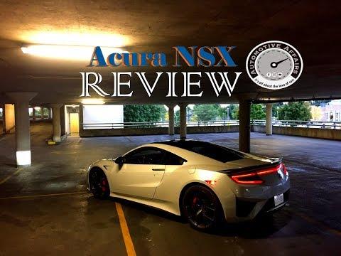 2019 Acura NSX NEWS + 2018 NSX Review = Automotive Affairs Special