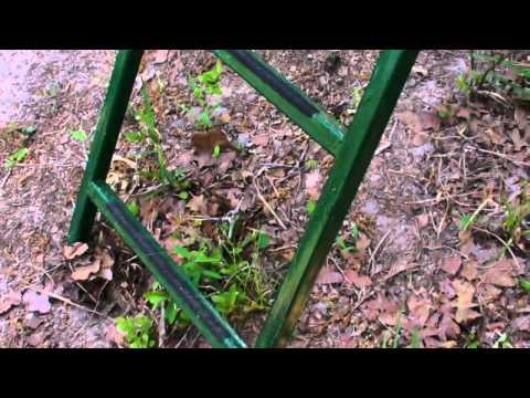 Texas Deer Blind 6x8 Home Built Steel Frame Youtube