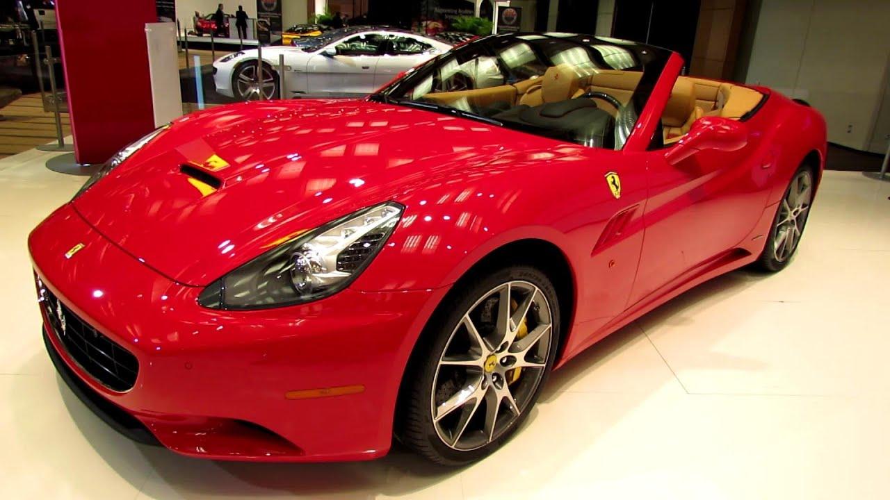 2013 Ferrari California Spyder Exterior And Interior