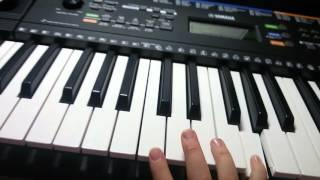 Видео урок на синтезаторе Жили у бабуси