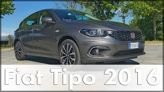 Fiat Tipo 2016 five-door 1.4 litre turbocharged petrol engine | Test Drive | Review | Car