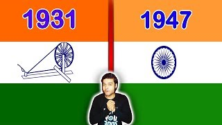 1931 भारतीय झंडा और 1947 भारतीय झंडा - भारत के बारे में आश्चर्यजनक तथ्य - Top Enigmatic Facts Ep 28