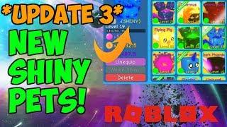 NUOVI PETS SHINY?!? Aggiornamento 3 (Bubble Gum Simulator Roblox)
