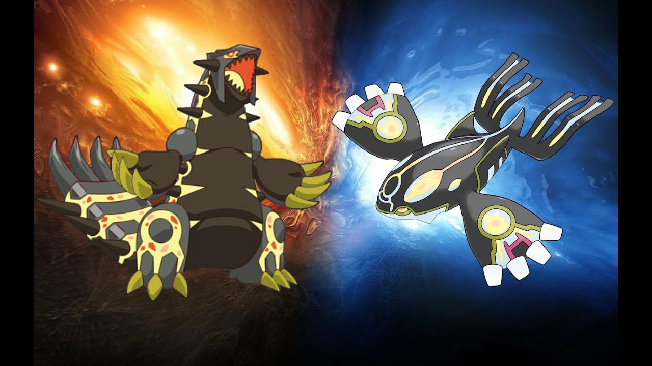 Groudon Kyogre Worb Shiny Code Pokemon Alpha Omega Youtube