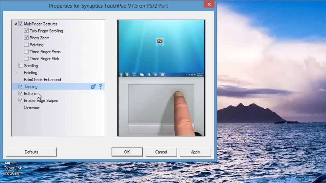 SYNAPTIC CLICKPAD WINDOWS 10 DRIVERS