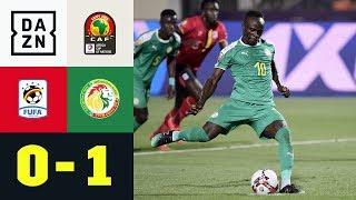 Sadio Mane führt Team zum Sieg, trotz verschossenem Elfer: Uganda - Senegal 0:1 | Afrika Cup | DAZN