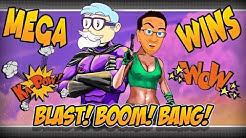 BLAST! BOOM! BANG! MEGA WINS - Casino Professor feat. Pink Panter