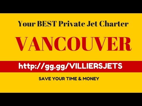 Private Jet Charter VANCOUVER