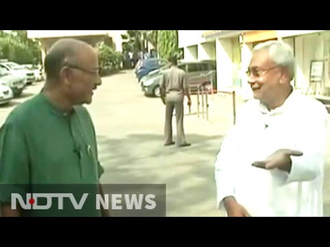 Nitish Kumar's first TV interview after winning Bihar election