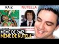 RAIZ x NUTELLA - OS MEMES MAIS ENGRAÇADOS! [+13]