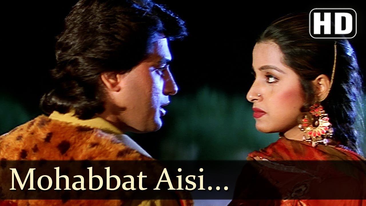 Mohabbat Aisi Mehandi Hai - Ayub Khan - Saadhika - Salma Pe Dil Aaga Ya -  Hindi Song